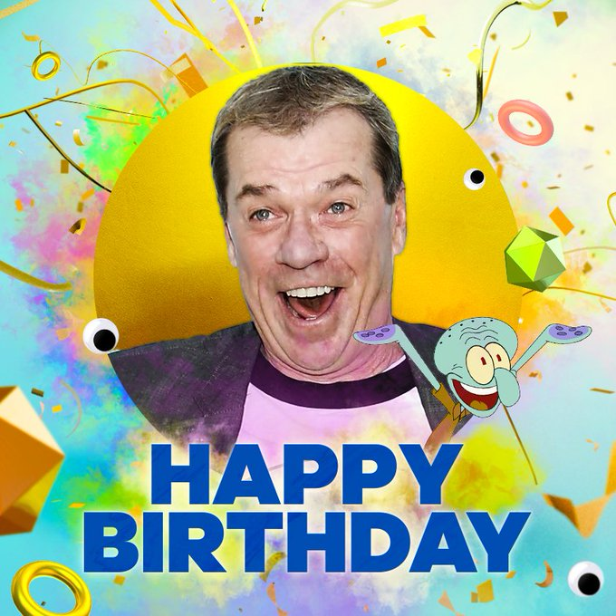Happy Birthday Rodger Bumpass!  We hope you have a day!
