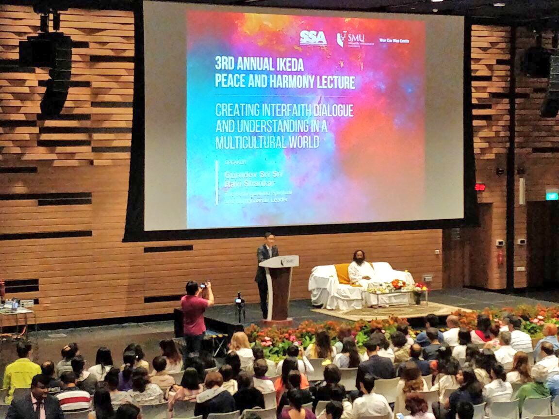 Delivered the 3rd annual Ikeda Peace and Harmony lecture at the @sgSMU in Singapore.