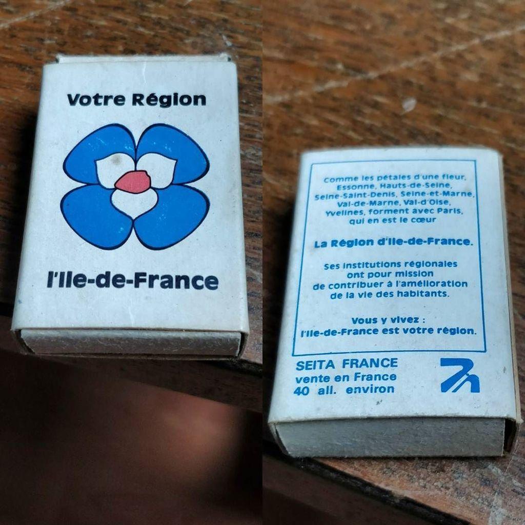 Relique  #IleDeFrance #Allumettes #Logo #Vintage #SeitaFrance #Fleur #Petales #blue #White #red #OldiesAndGoodies #Paris #VuAMontargis  http:// ift.tt/2z1Gz04  &nbsp;  <br>http://pic.twitter.com/YE4Ltvnq0k