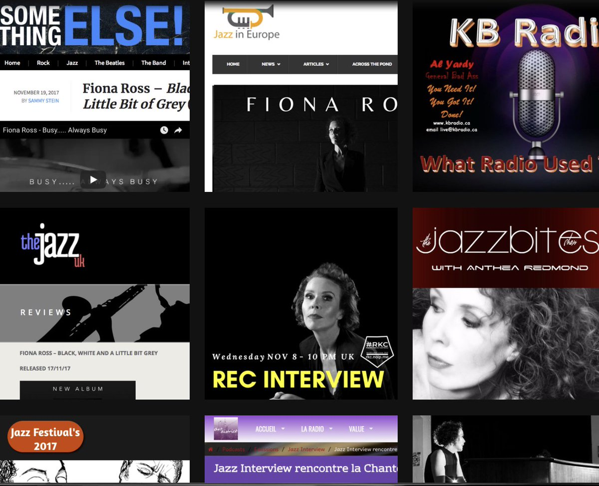 So my press page is filling up. It&#39;s very exciting......#newmusic #newalbum #press #jazz  http:// ow.ly/6Cqx30gGxg6  &nbsp;  <br>http://pic.twitter.com/WTj9heAodT