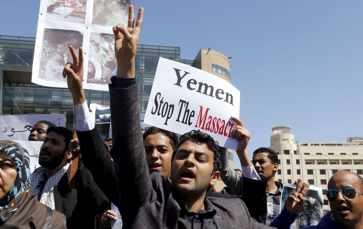 April 2, 2015 A Call to Resist Saudi (and US) Aggression in Yemen #StopIllegalBlockade #Peace4Yemen  https:// buff.ly/2iwhPXF  &nbsp;  <br>http://pic.twitter.com/JWlJXVSt14