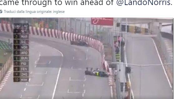 Formula 3: finale coi botti a Macao. Primo e secondo ko al rettilineo finale - https://t.co/qJdbuzYLHm #blogsicilianotizie #todaysport