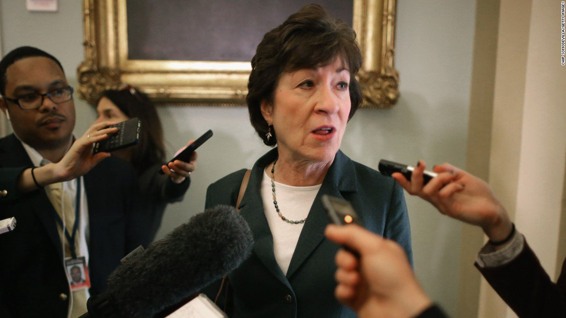Sen. Susan Collins says she does not believe Roy Moore's denials of the allegations against him and hopes Alabama voters don't elect him for Senate https://t.co/lEjR4nQKVz