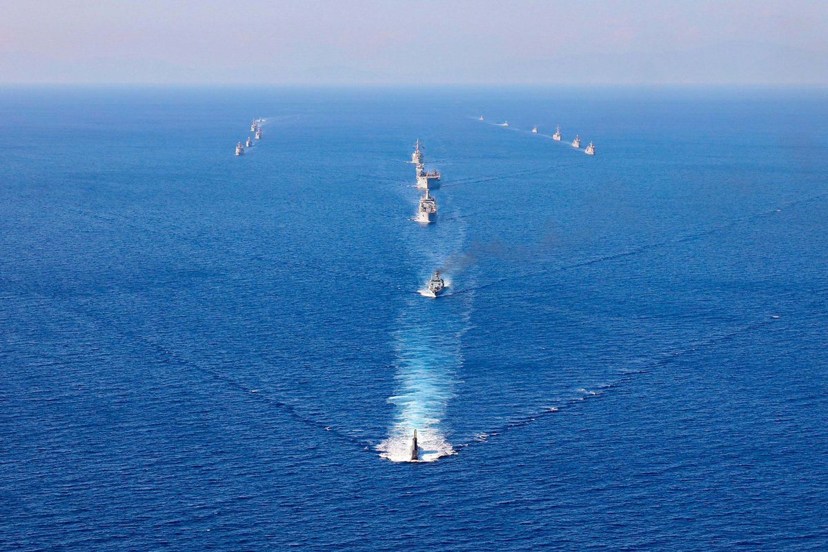 Standing #NATO Maritime Group Two (SNMG2) completed Turkish-led maritime exercise Dogu Akdeniz 2017 in the Eastern Mediterranean on Friday | Read:  https:// goo.gl/GekyMf  &nbsp;  <br>http://pic.twitter.com/6u6cqlu3DY