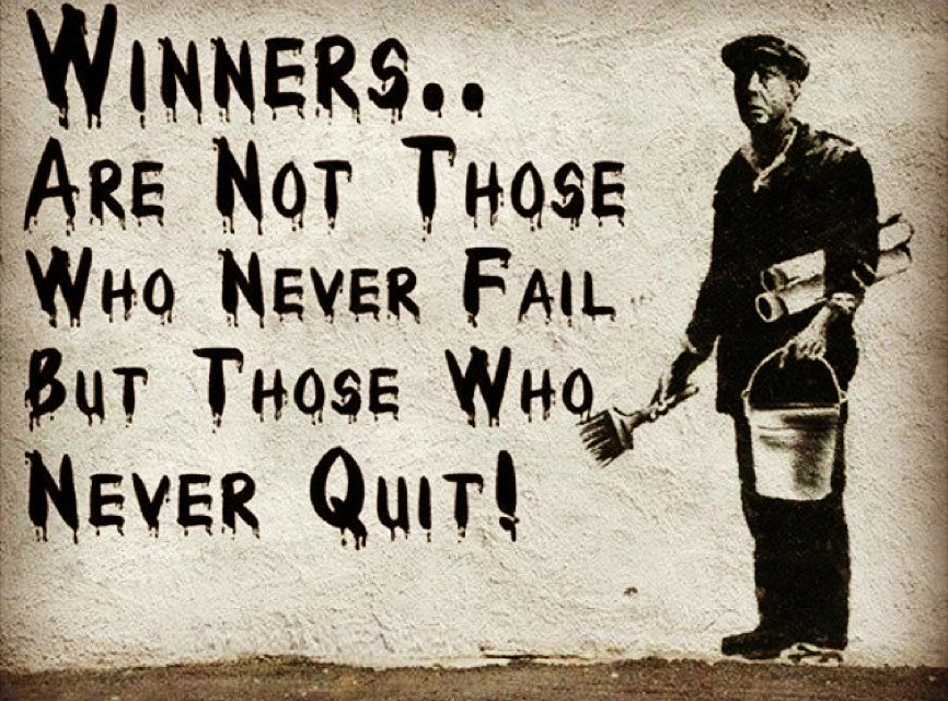 #Winners Are Not Those Who #Never #Fail But Those Who Never #Quit. #QuoteoftheDay  #QOTD #Success #Quotes #Motivation #MotivationalQuotes  #InspirationalQuotes #Hustle #DontQuit #WordsofWisdom #SelfHelp #SelfImprovement #PositiveThinking<br>http://pic.twitter.com/3egrRNLPt0