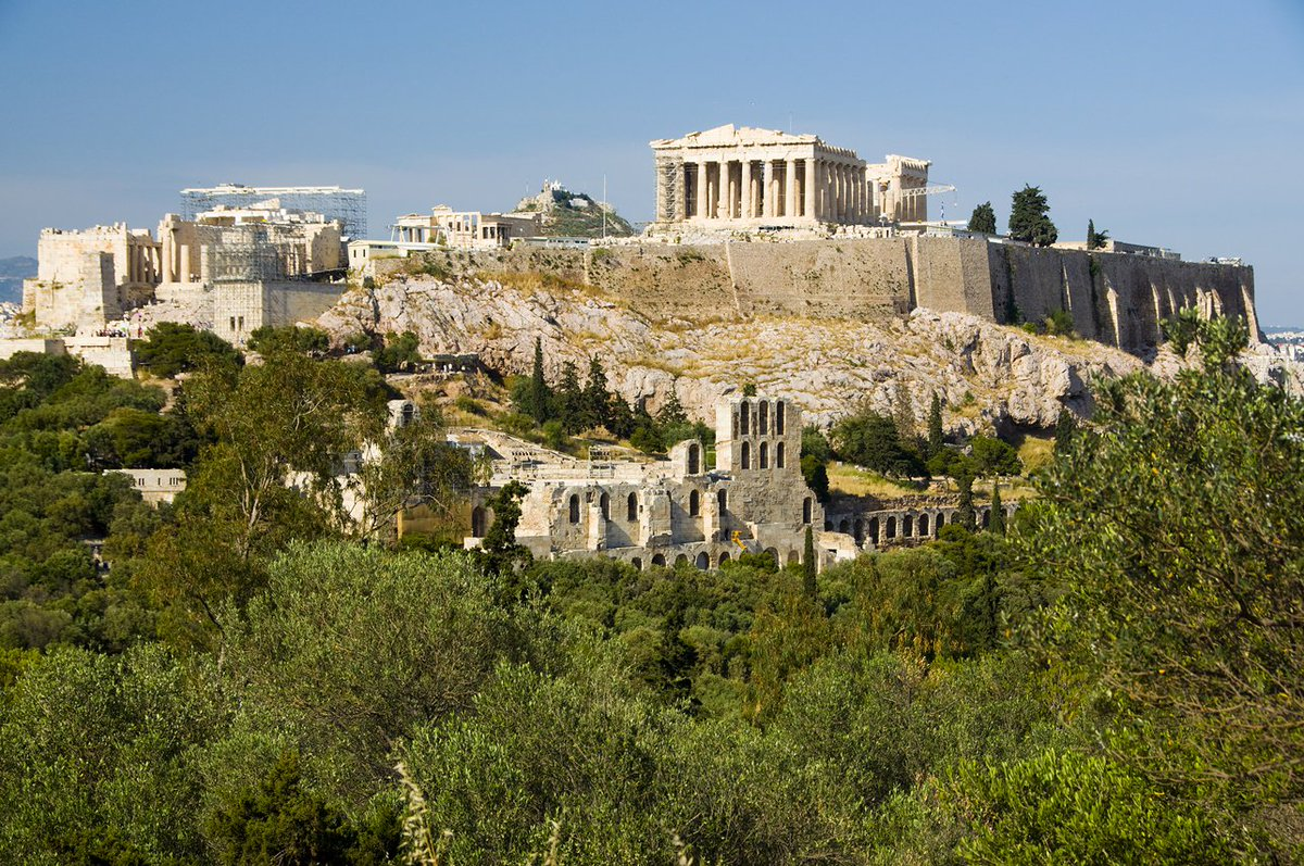 Good morning from #Athens #Greece #VisitGreece #Travel #ttot <br>http://pic.twitter.com/ZqqYzN1CZa