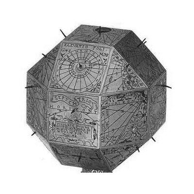 Resultado de imagen de Hans Koch sundial polyhedron