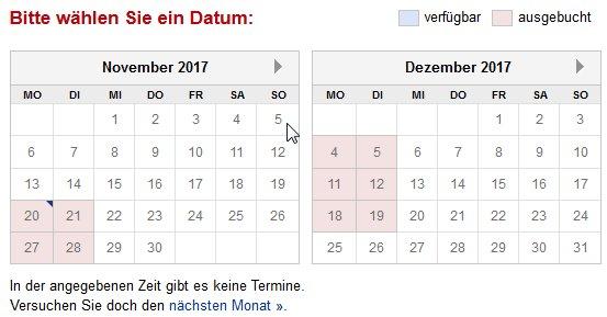 Bürgeramt pankow termin