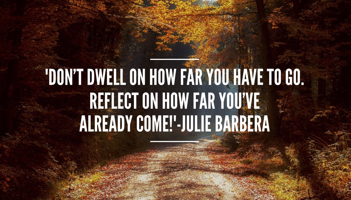 &#39;#FocusOnThePositive Don&#39;t dwell on how far you have to go.#Reflect on how far you&#39;ve already come!#ThinkBIGSundayWithMarsha #focus #mindset<br>http://pic.twitter.com/YSLCI4Vn67