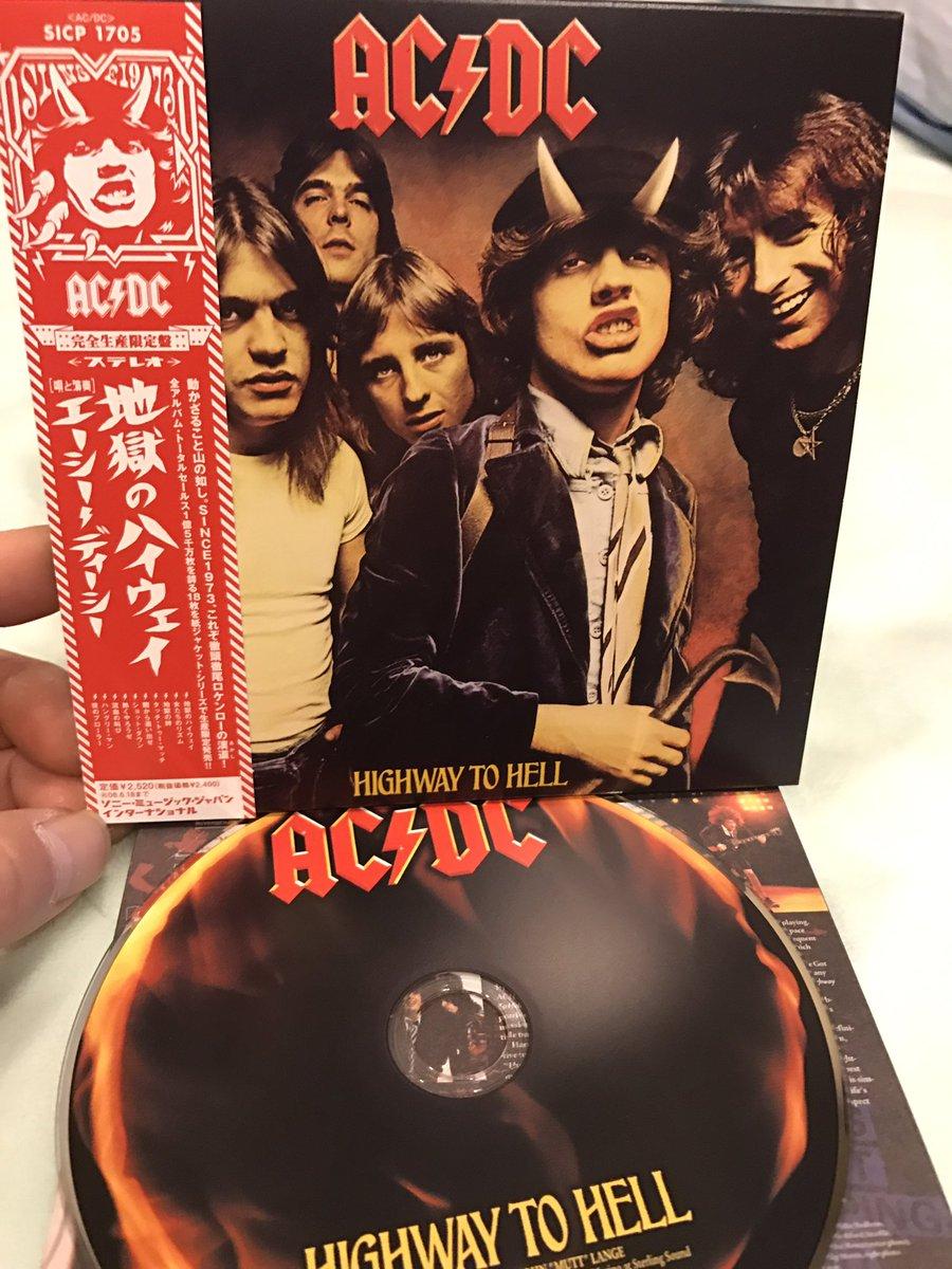 "AKI☆ on Twitter: ""AC/DC / HIGH..."