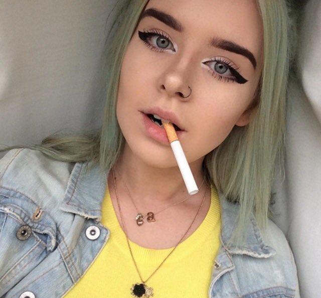 Smoking fetish pictures