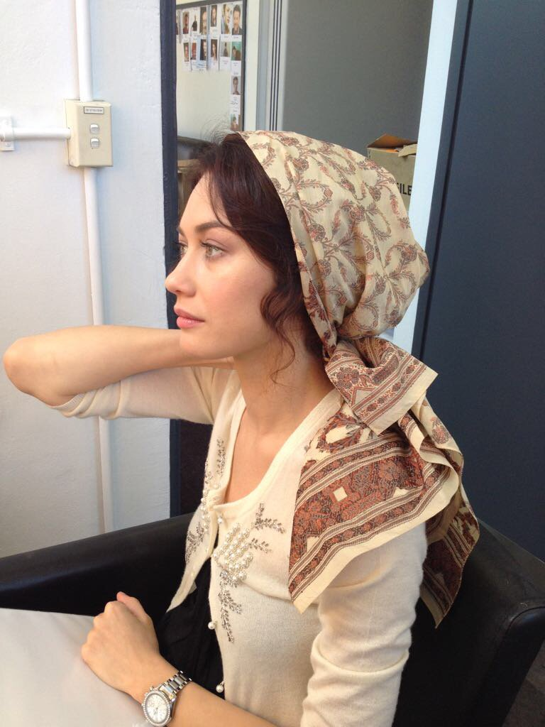 RT @OlyaKurylenko: #Throwback to when I played Aishe in #TheWaterDiviner. @russellcrowe https://t.co/rkBy6g3g7j