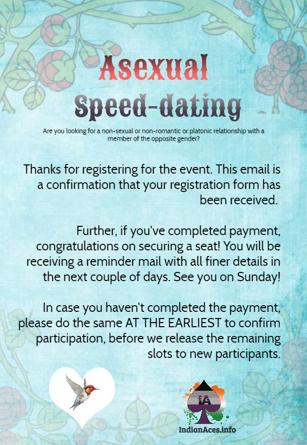 speed dating indian
