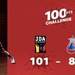 BINGO ! Avec les 101 points inscrits vendredi soir, la @jdadijonbasket a réalisé le #100PointsChallenge de @SFR_Sport 💯✅  La saison est encore longue, alors inscrivez-vous vite sur https://t.co/pmFHawp85e !