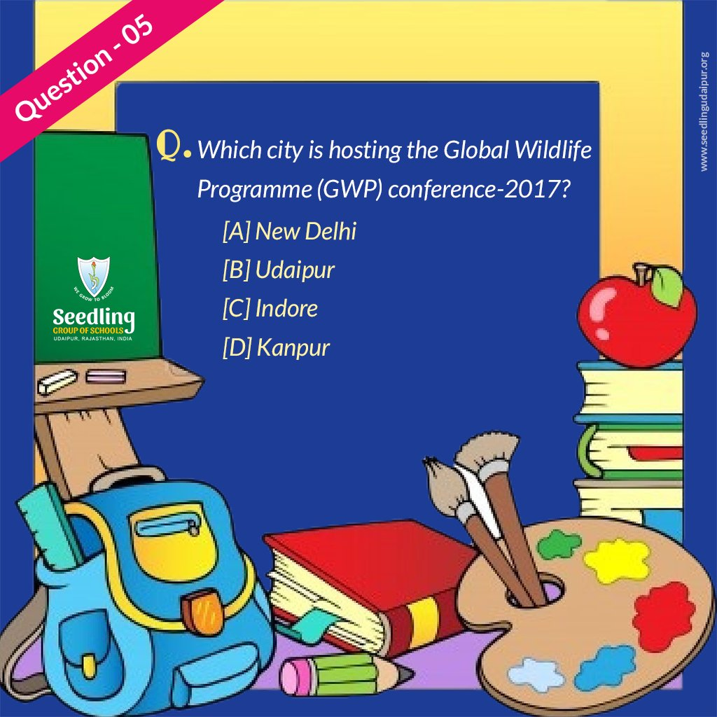 Push your thinking cell and answer this question.  Participate in the contest and get a chance to win attractive prizes.  #QuizContest #Contest #Question5 #ContestAlert #quizknock #QUIZquotes #quiznight #contestindia #contestindia #School #BestSchool #SchoolLife #friendsagain <br>http://pic.twitter.com/5bSdiRHDmV