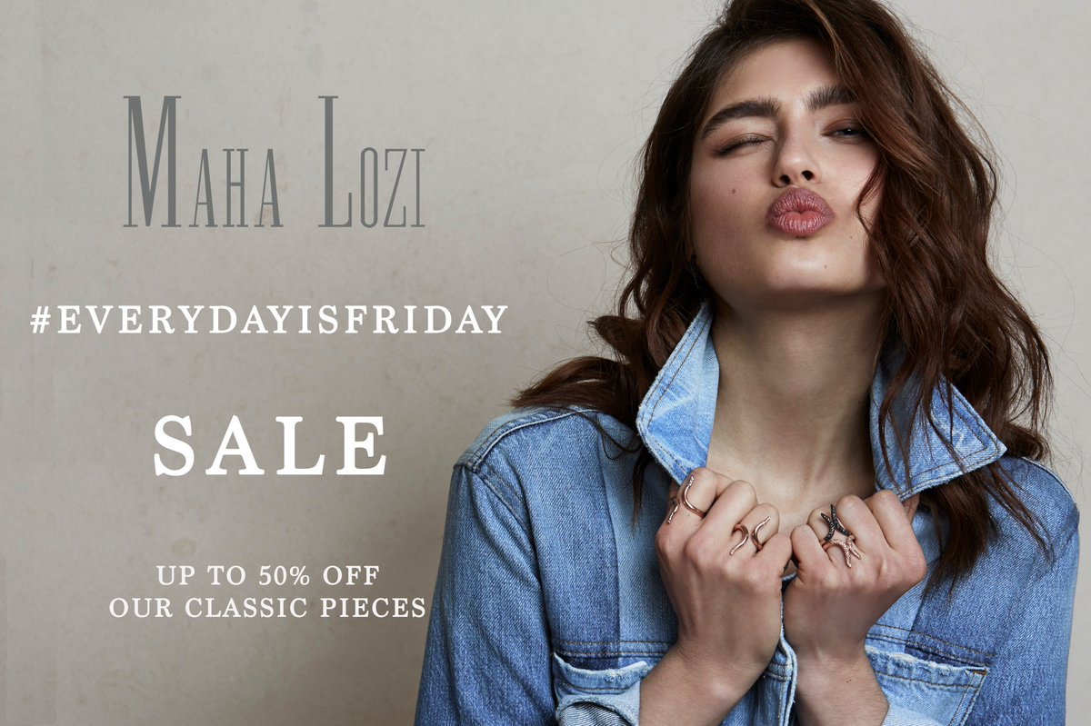 When #BlackFriday is not enough... #EverydayisFriday SALE! Until the 26th Nov only https://t.co/wpTpR5hgKY https://t.co/SCHSg3aGCs