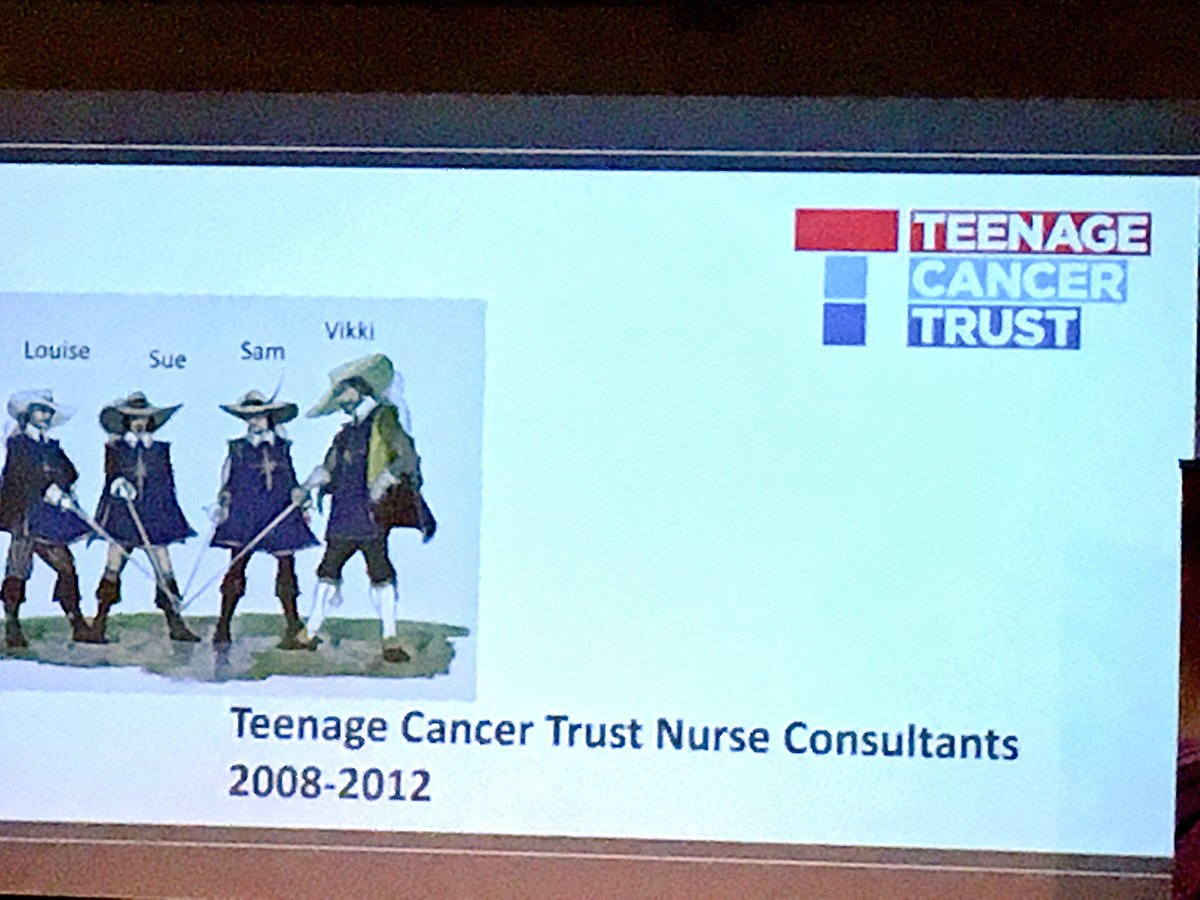 The four TYA musketeers #leadingtheway #TYACancer leaders<br>http://pic.twitter.com/Y28nQN4jjv