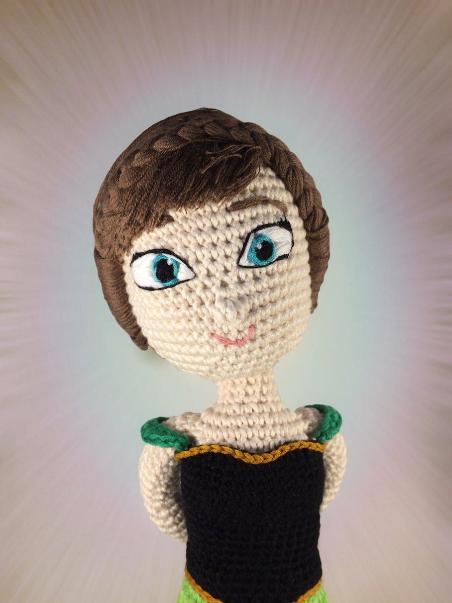 Hand painted doll eyes Amigurumi doll, PDF pattern | Amigurumi ... | 1200x900