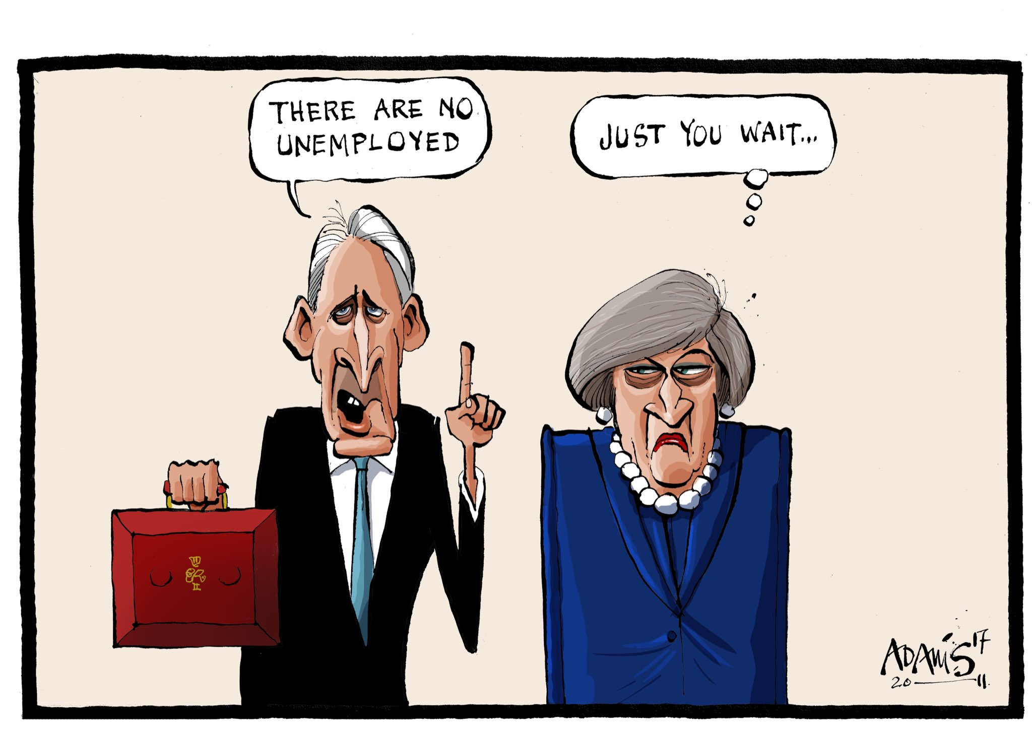 Our @Adamstoon1 @EveningStandard has his take on Downing Street relations https://t.co/0MUkmIgmNv