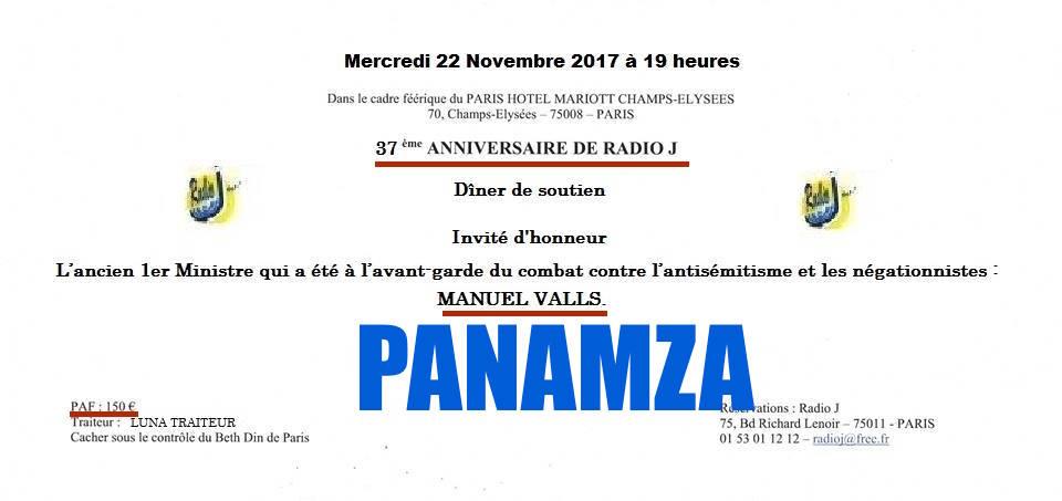 Devinez quel média va célébrer Valls ? Radio J