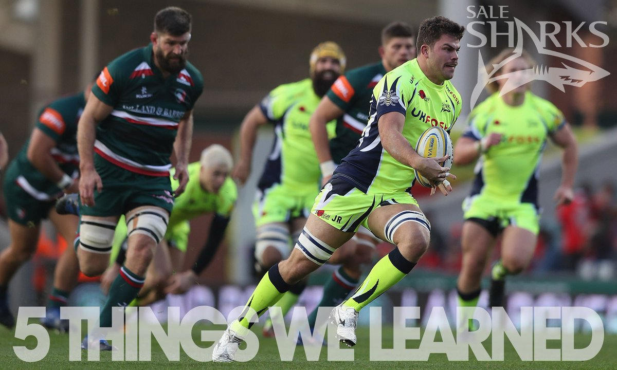 5 Things We Learned - @LeicesterTigers 👉...