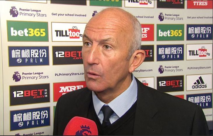 Here's Tony Pulis' final #MOTD interview...