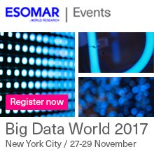 7 days until we&#39;re in #NYC for #ESOMAR #BigData World. Get ready for 2 days of smart #data integration!  http:// bit.ly/2q18vgS  &nbsp;   #datascience #mrx #businessintelligence #growthhacking #insights #IoT #newmr #startup #automation #mobile<br>http://pic.twitter.com/8Sksy4wv1O