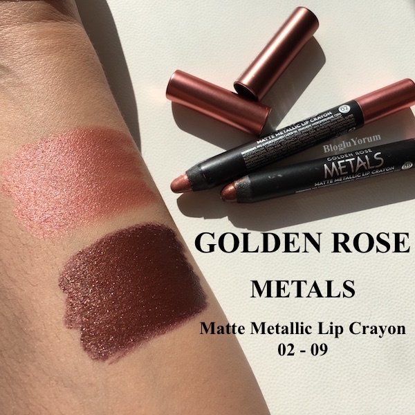 Fulya Başuncu On Twitter Golden Rose Metals Matte Metallic Lip