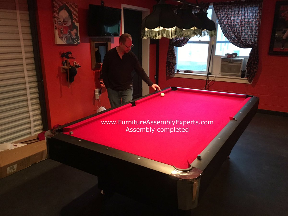 DC Movers Call On Twitter BILLIARD POOL TABLE - Pool table movers delaware