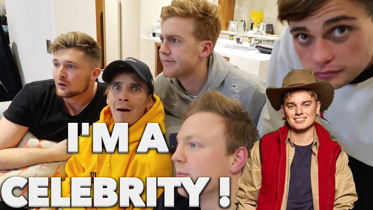 RT RT NEW VIDEO OUT NOW - REATCING TO JACK MAYNARD ON IM A CELEBRITY youtu.be/_oO72DyJW04
