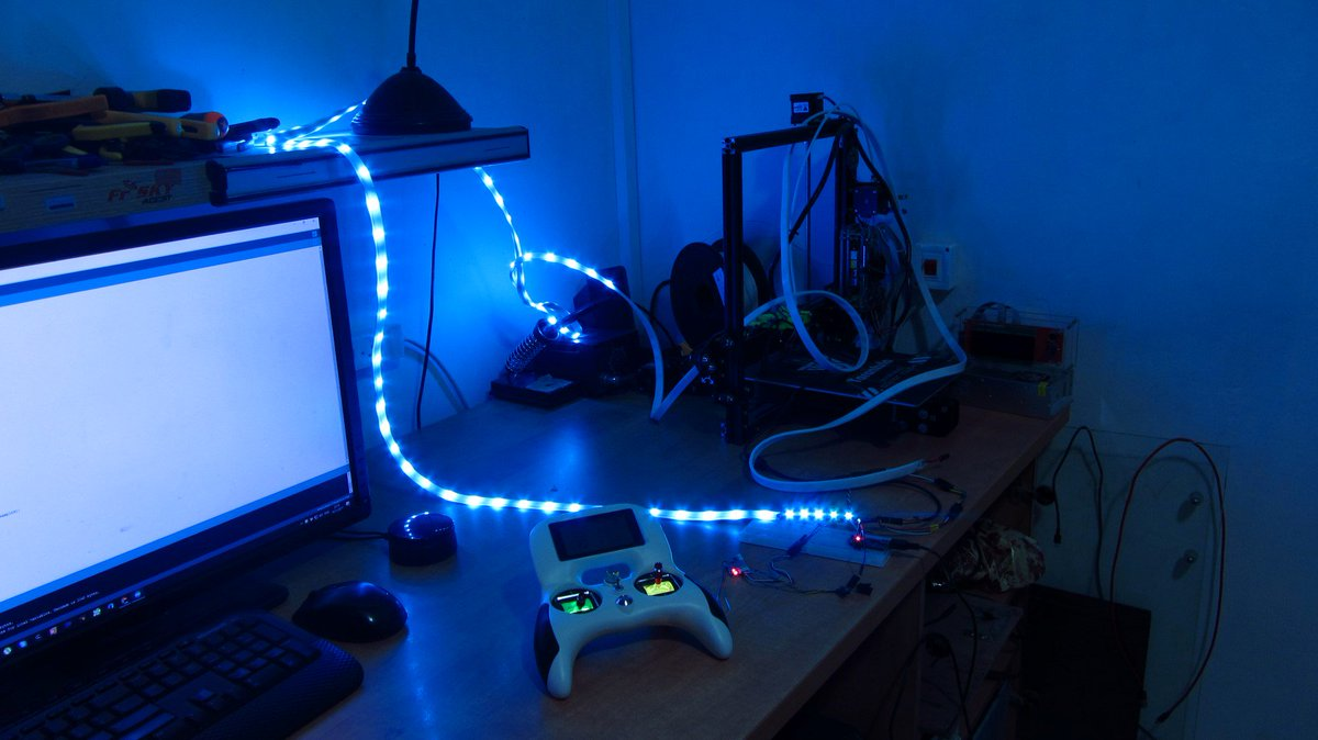 Nitzan B On Twitter We Are Creating Awesome Led Based Simple Diy Electronic Projects Like Our Page More Coming Soon Project Https Instructablescom Id Radio Controls Strip Lights Pic Kmdmb5qvnx