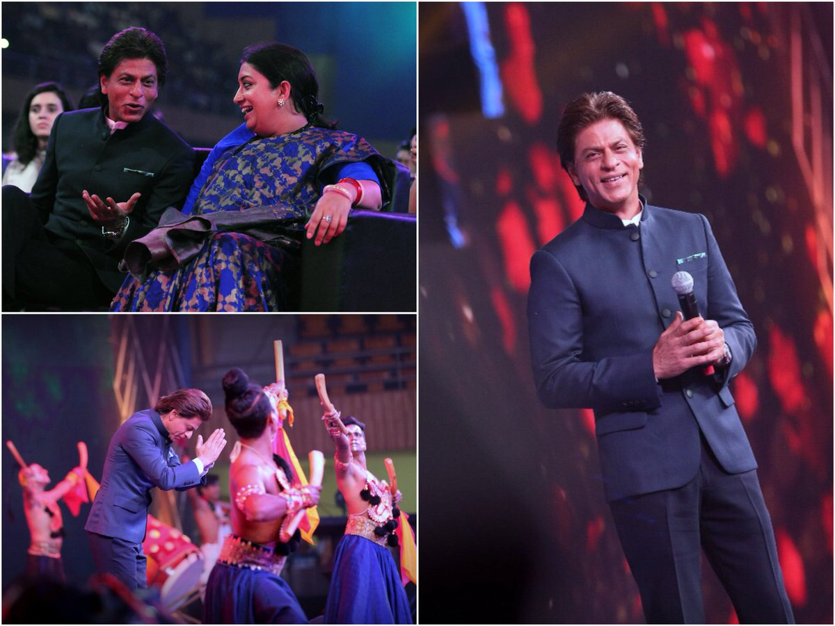 Thank you @iamsrk for your gracious pres...