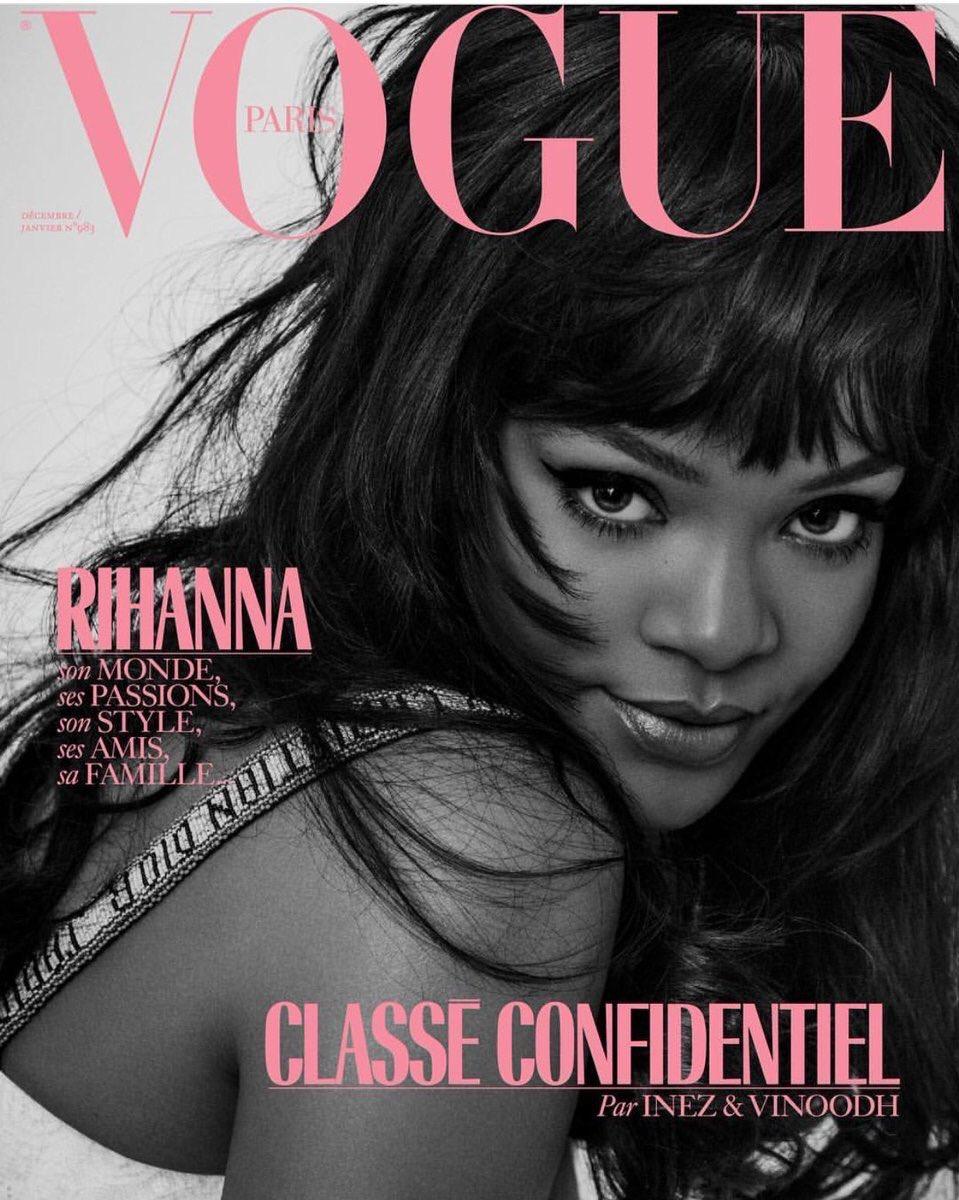 Rihanna for Vogue Paris 💕 https://t.co/h...