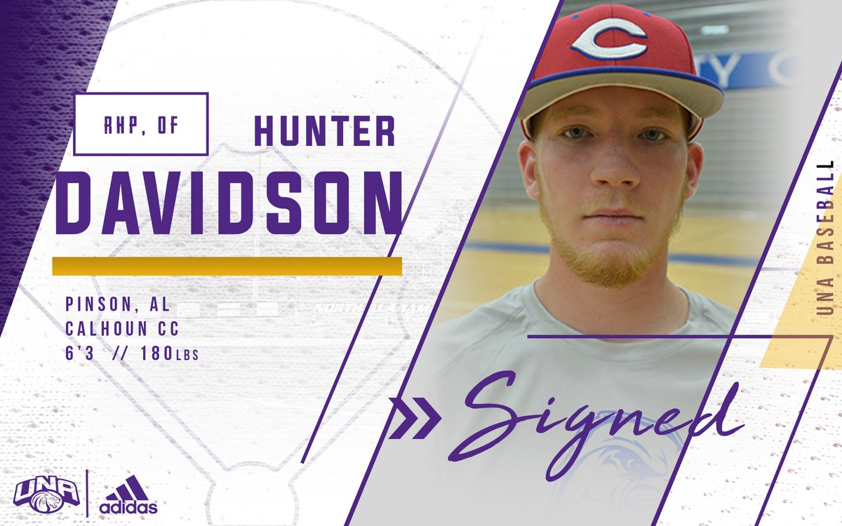 Welcome @hunterdavidson4 RHP/OF from Cal...