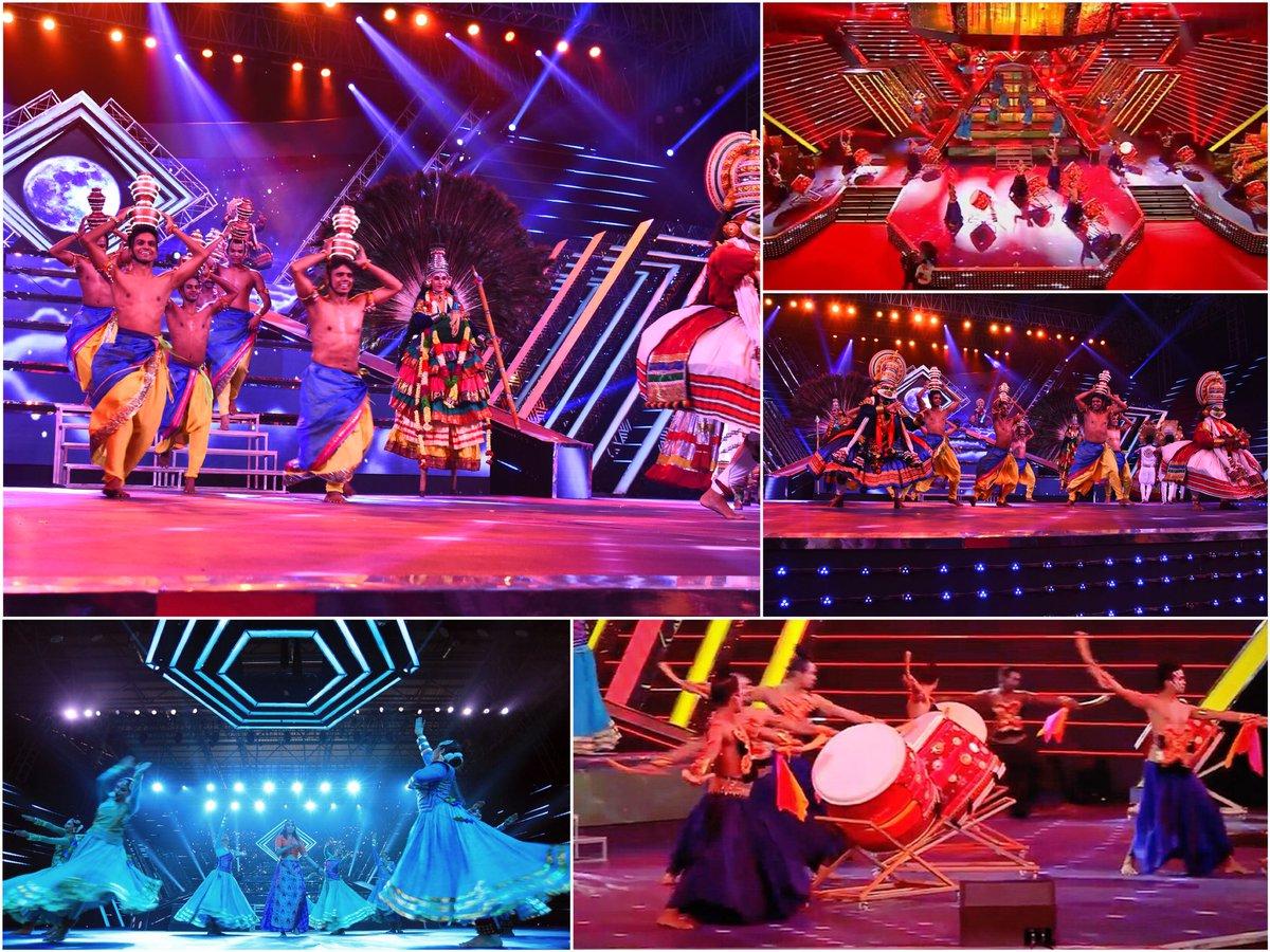 Performances 'Drums of India' and 'Utsav...