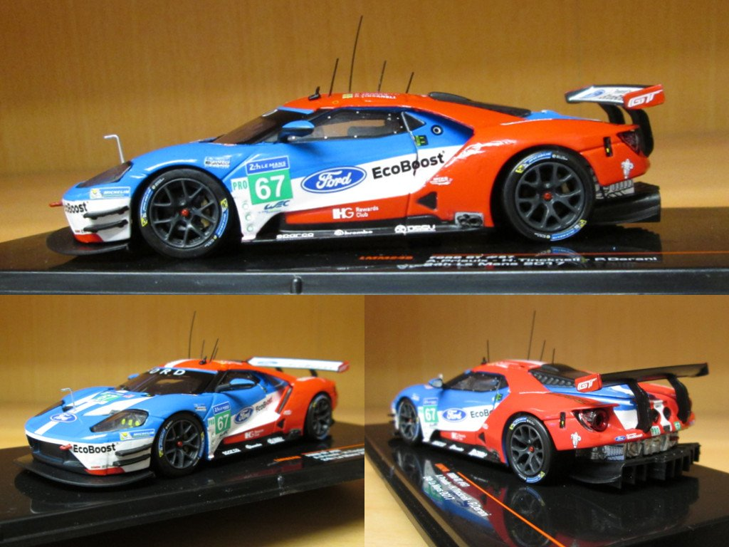 Modelcarworld On Twitter This Ford Gt H Of Lemans  In Scale  Is Announced By Ixo And Will Be Available In Early