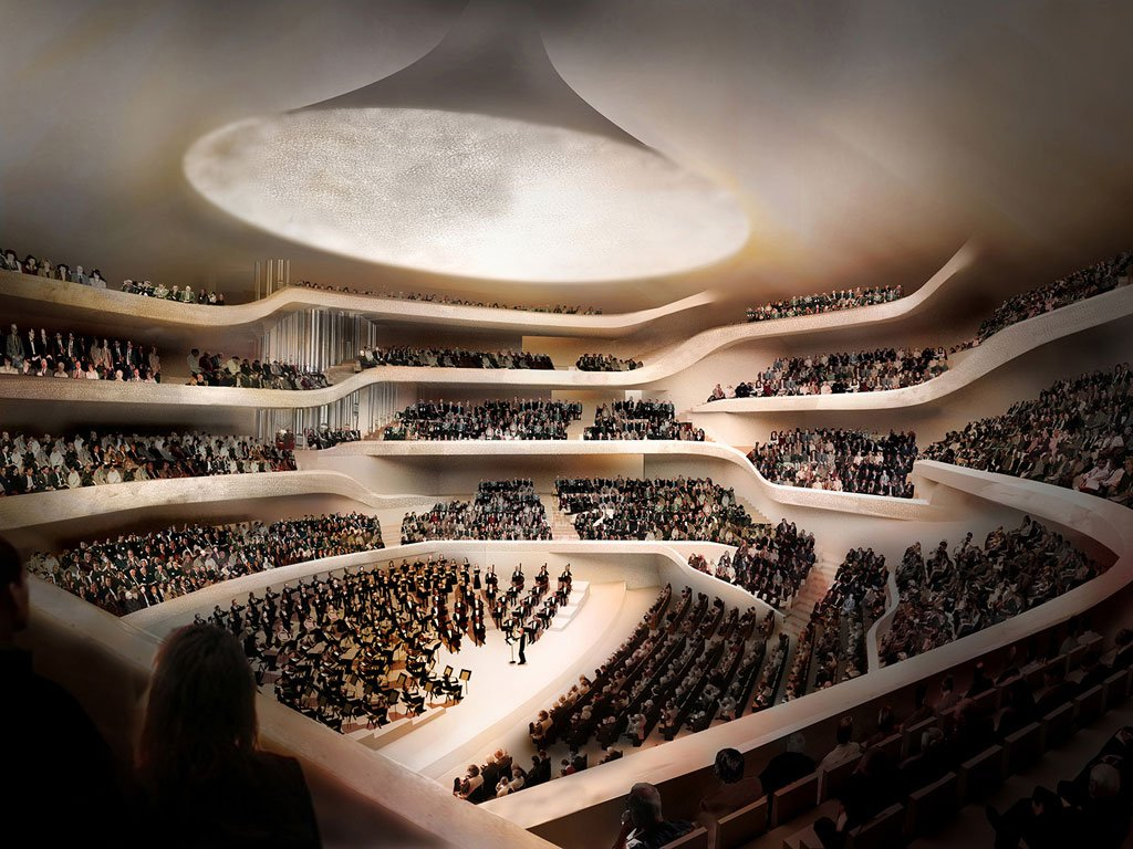 Architecture meets science! @Elbphilharmonie concert hall houses 10,000 unique #acoustic panels to deliver optimal listening experience  https:// youtu.be/XxEs4gmXc68  &nbsp;   #Hamburg #technology #innovation #architecture #Elbphilharmonie <br>http://pic.twitter.com/Hm3yb1vUYd