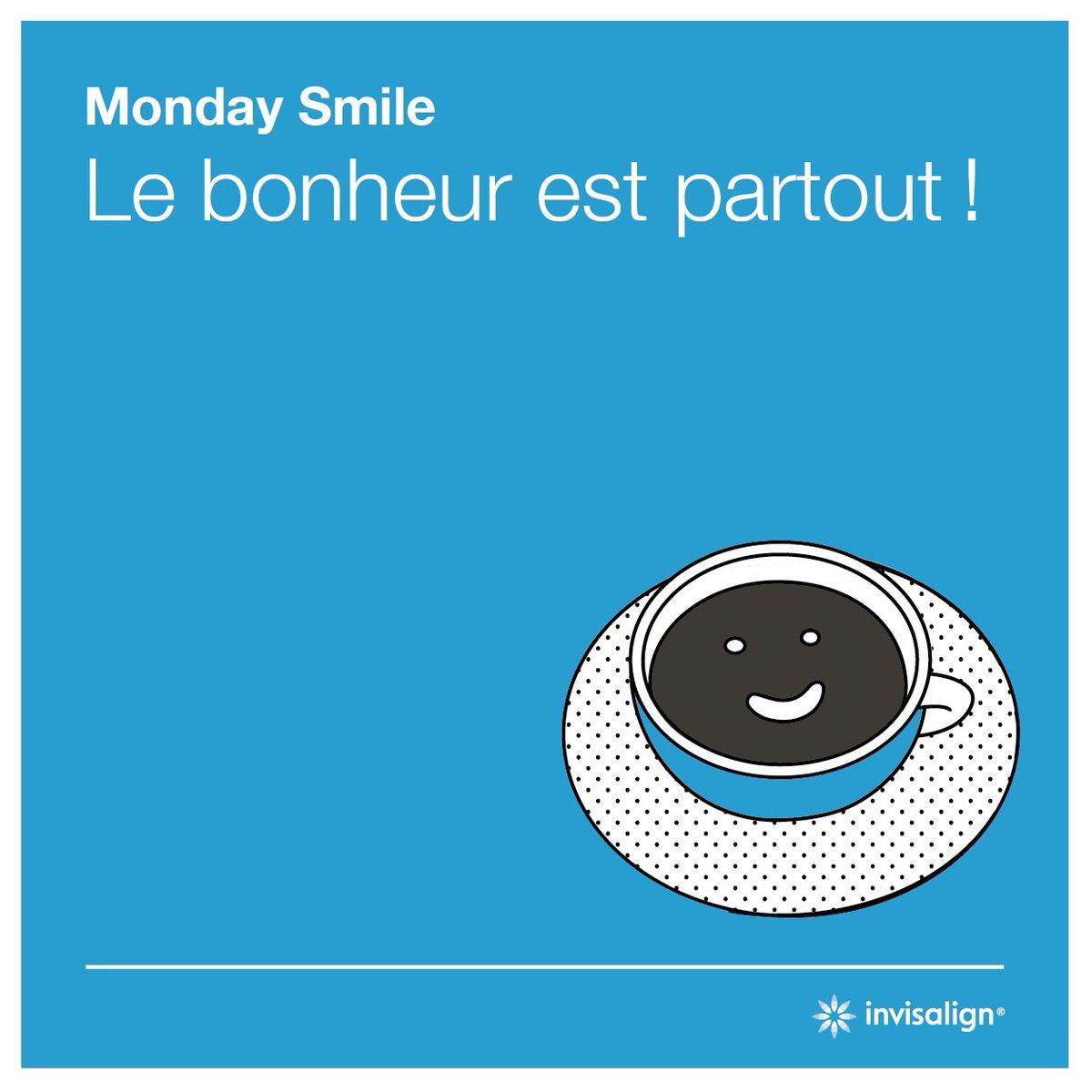 La technologie Invisalign® transforme les sourires depuis 1997 ! Plus d'informations sur : https://t.co/QMXXMueVw5 #mondaysmile #bonheur #sourire #lookup #madetomove #invisalign #smile https://t.co/oK52tXEkGw