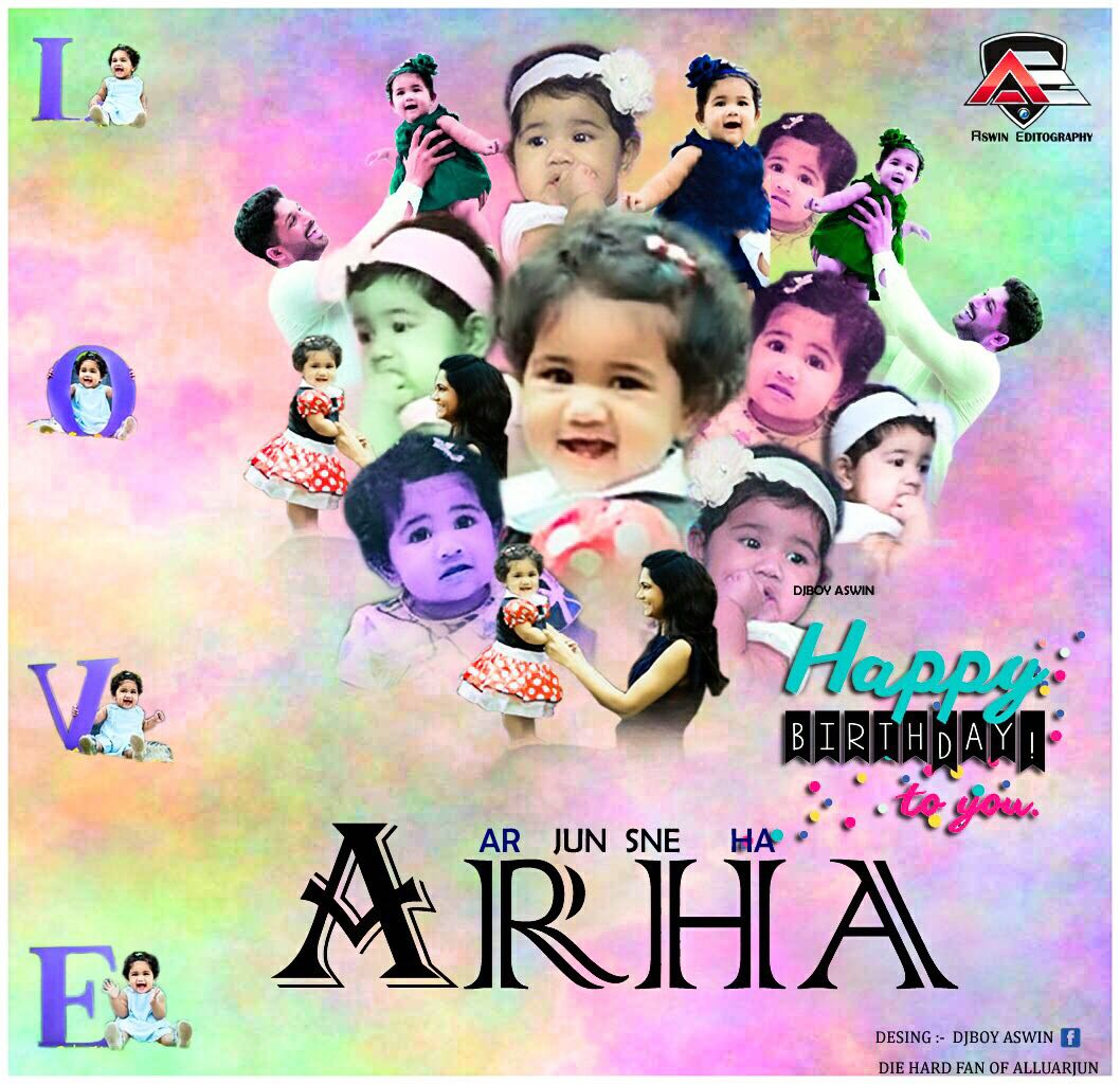 #HBDLittlePrincessAlluArha  Happy birthday to our #MLA  #AlluArha<br>http://pic.twitter.com/jsicvTNpO5