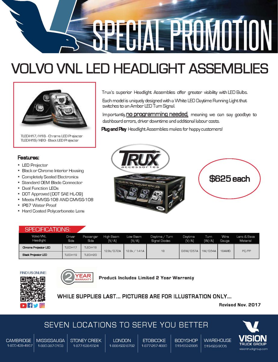 Vision Truck Group on Twitter: