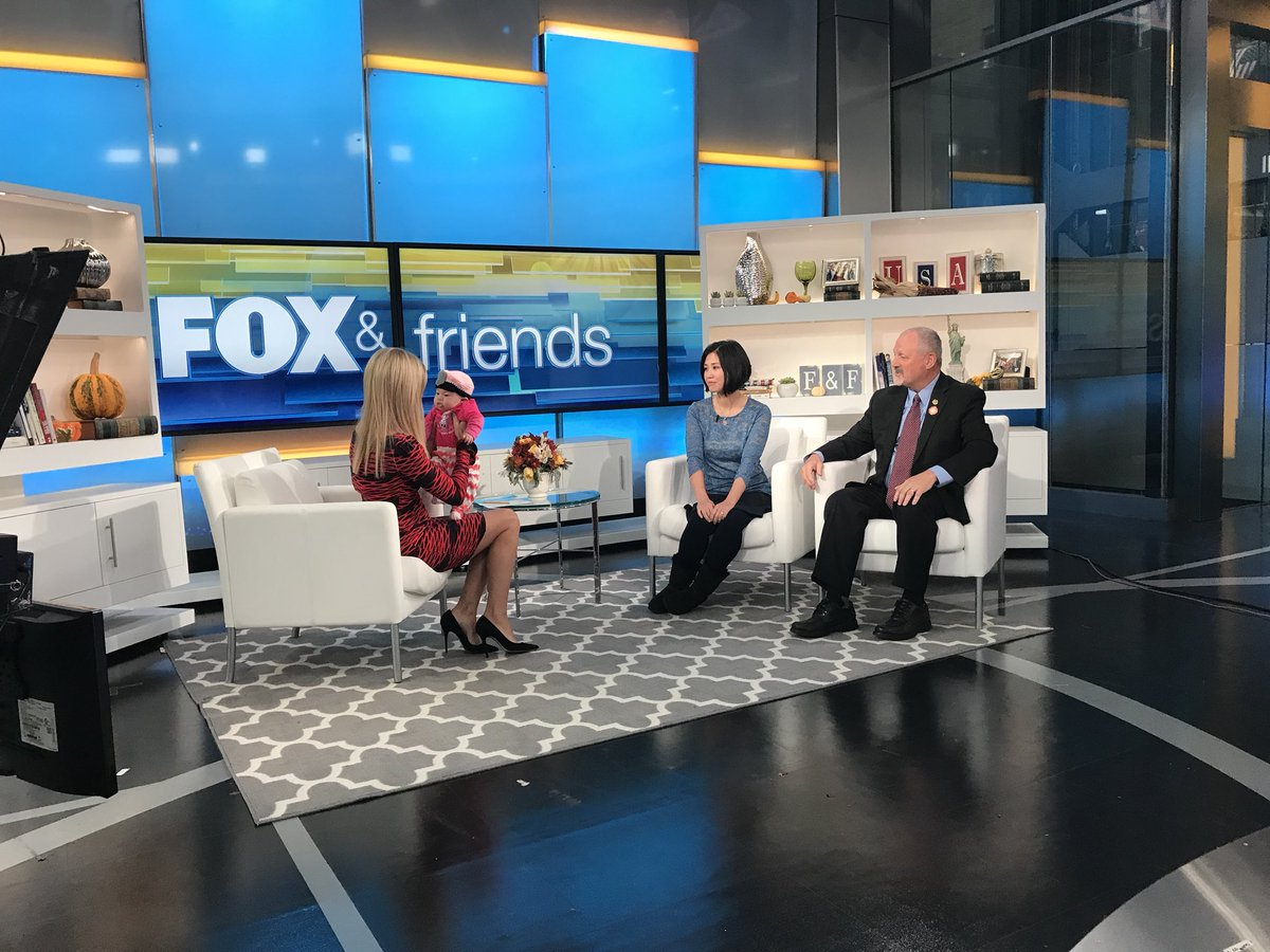 Widow of #NYPD Officer Wenjian Liu dreamed of a baby girl the night her husband died. She shared her story on @foxandfriends.