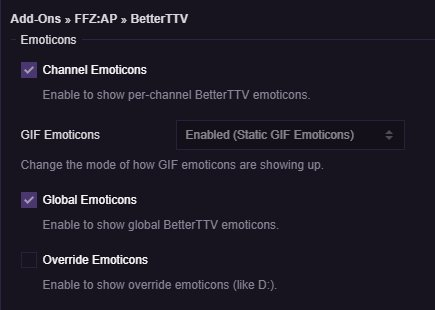 The FrankerFaceZ Add-On Pack on Twitter: