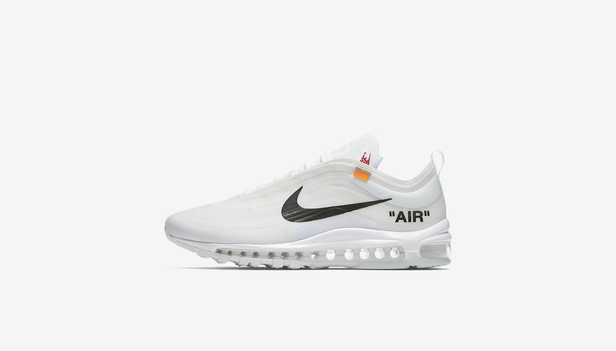 huge selection of 2e480 6c075 ... the off white x nike air max 97 og the ten releases in 30 minutes on