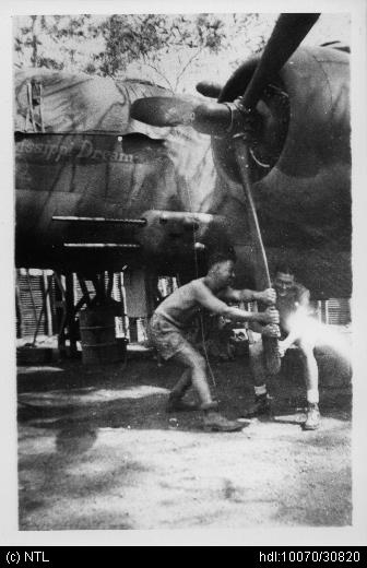 Dutch B-25D Mitchell N5-161 &quot;Mississippi Dream&quot; of No. 18 Squadron during #WWII (images via @NTLibrary) -  http://www. aviationheritage.org/view_aircraft. asp?id=8622 &nbsp; …  - The #wreck of this aircraft was salvaged from #Kalumburu, WA, in recent weeks - #WW2 #avgeek<br>http://pic.twitter.com/jrXNiDvwwu