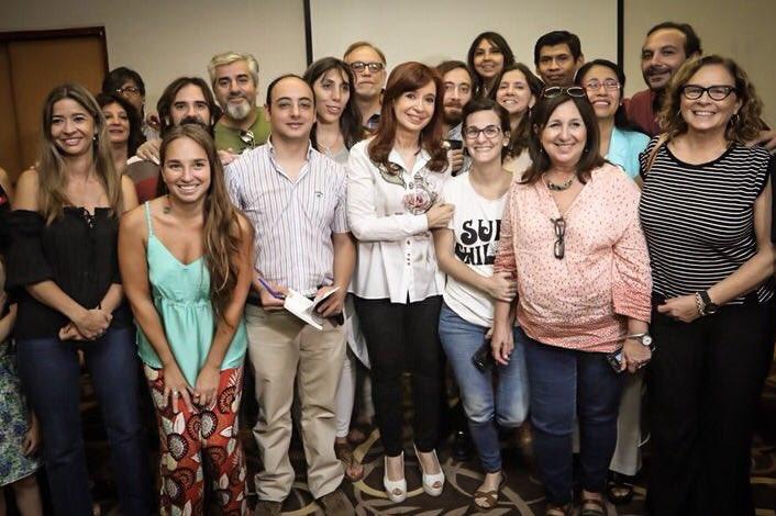 #Ahora reunida con científicxs e investigadorxs del Conicet Tucumán y de la Universidad Nacional de Tucumán. https://t.co/GyK2TmtYR3