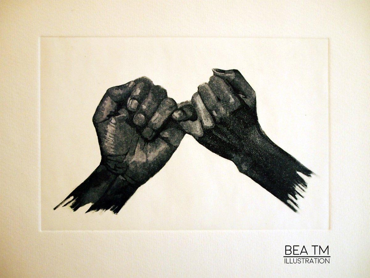 Forever. #forever #hands #fingers #engrave #aquaink #manos #dedos #grabado #aguatinta<br>http://pic.twitter.com/zXoWTbt0MO