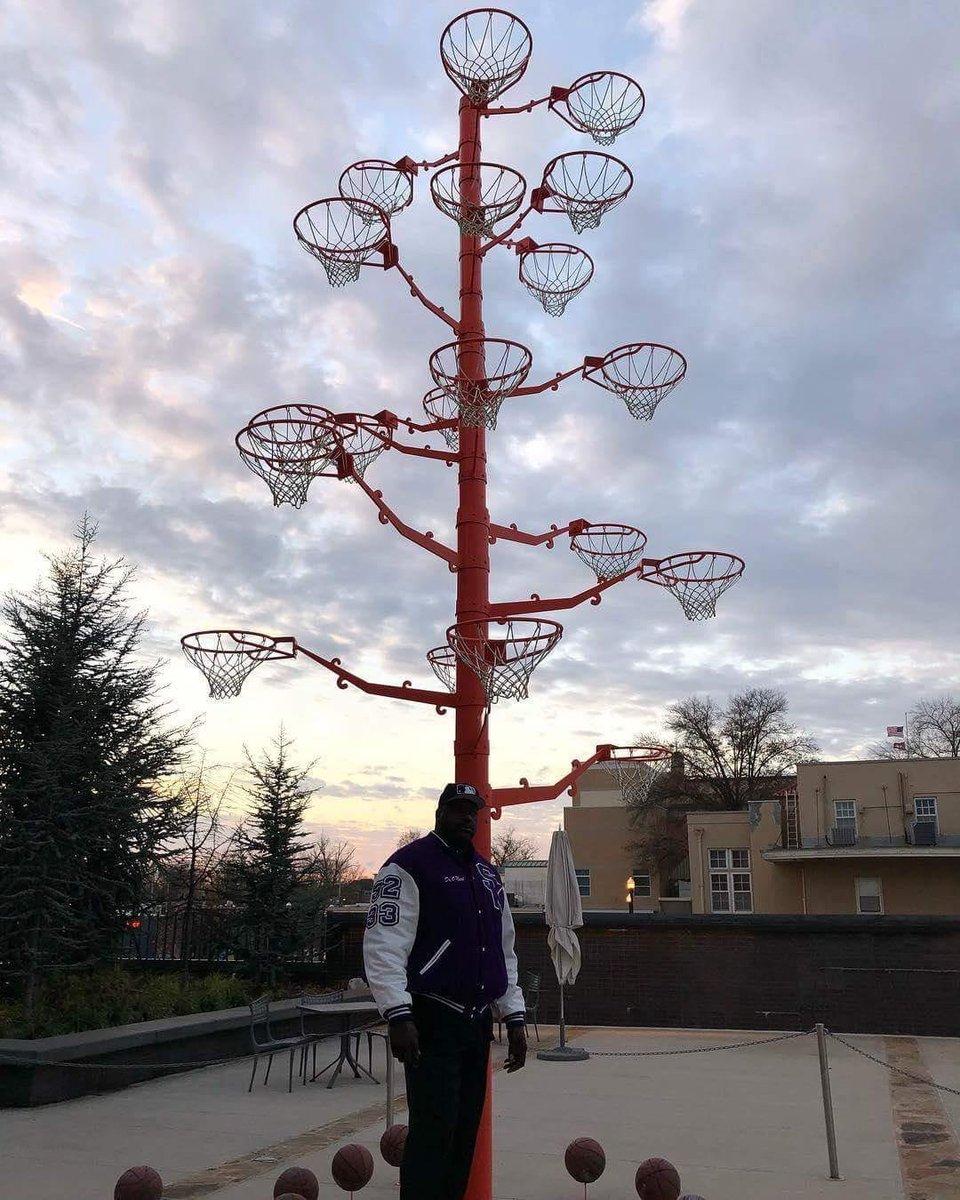RT @mackolik: Shaquille O'Neal, kariyeri boyunca kırdığı bütün potaları toplayıp onlardan 'Pota Ağacı' yaptırmış 🌲 https://t.co/xf55EsaMxQ