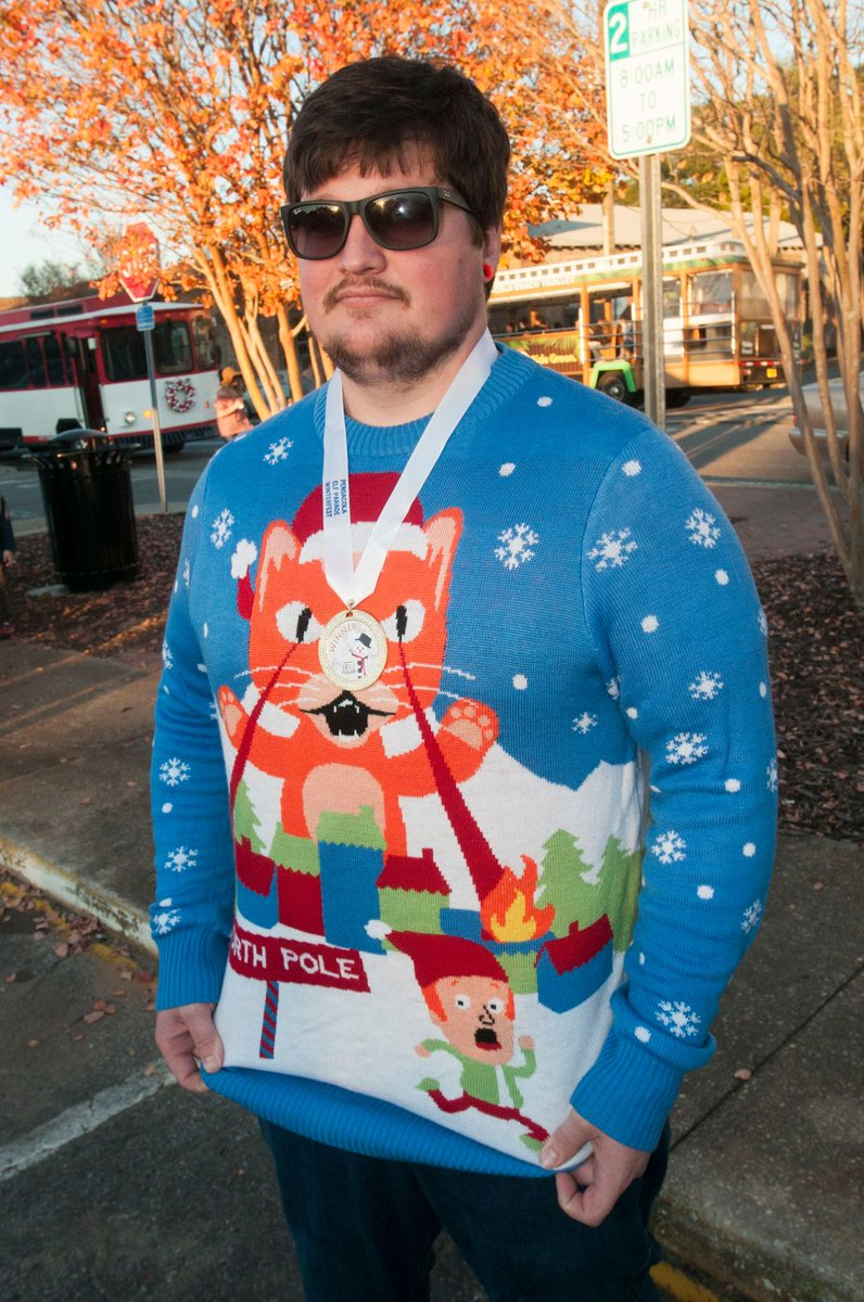 Do you have your ugly sweater yet? It's...