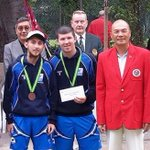 Bowls: BRONZE for John Fleming and Greg McLaughlin at the Hon...