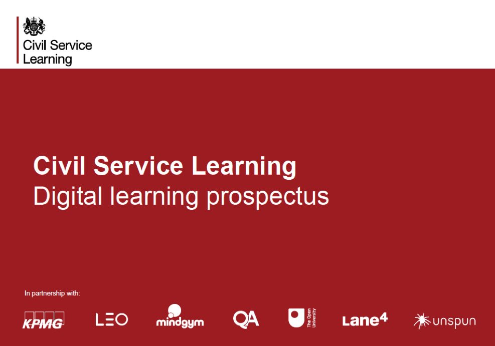 Civil Service Hr On Twitter Learning In The New Csl Curriculum Just Got Even Better The Digital Only Topics Are Now Free For More Details See The Digital Learning Prospectus Https T Co E3pogxdbgh Https T Co Gcimgmwxv4